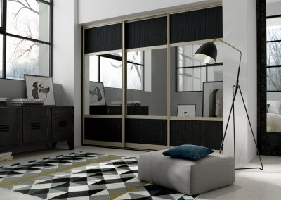 Hacienda Black MFC & Mirror
