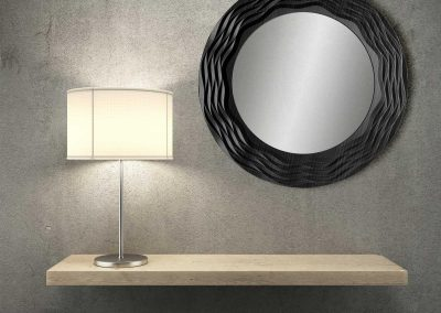 Round Feature Wall Mirror